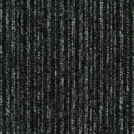КОВРОВАЯ ПЛИТКА EVERESTLINE (ЭВЕРЕСТ ЛАЙН) 178 ЧЕРНЫЙ-СЕРЫЙ