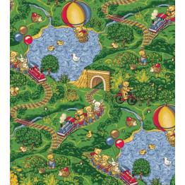Ковролин Малиновка 630 зеленый